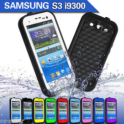 Samsung S III Waterproof Case Shockproof Tough Cover for Samsung Galaxy S3 i9300