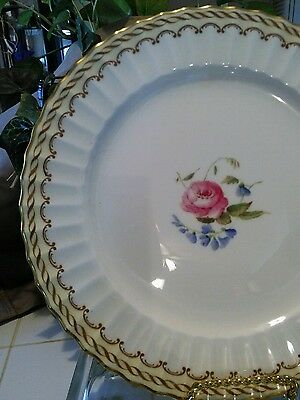 "Vintage Royal Worcester KENT Z1636 Bone China DINNER PLATE 10 1/2"" *NICE*"