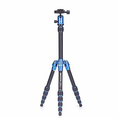 MeFoto Backpacker Aluminum Blue Tripod Kit with Ball Head -> Free US Ship