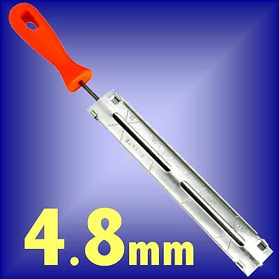 4.8mm CHAINSAW TOOTH FILE sharpening chain blade guide sharpener
