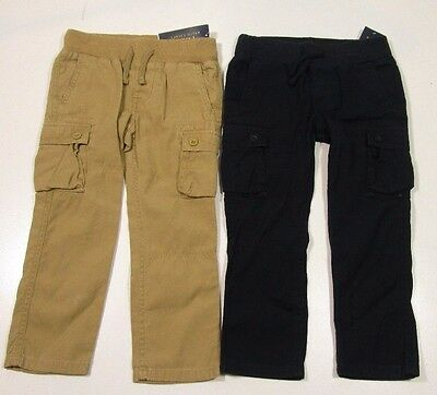 Polo Ralph Lauren Boys Poplin Utility Cotton Canvas Slim Fit Cargo Pants