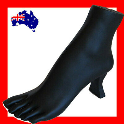 RARE Anklet Toe Ring Resin Foot Display Stand-Black | AUSSIE Seller