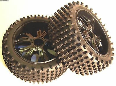 BS937-001 1/10 RC Buggy Off Road Wheels and Tyres FRONT x 2