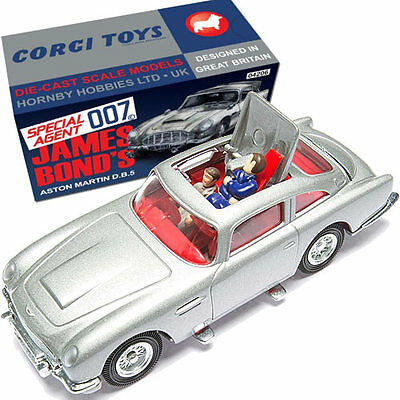 CORGI CC04206 James Bond Aston Martin DB5 Silver 50th Anniversary Thunderball