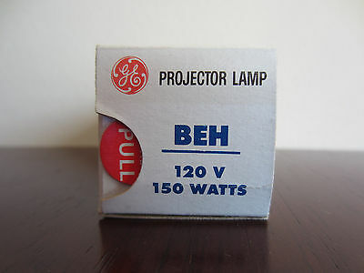 GE General Electric BEH 120V 150W Projector Lamp Projection Bulb x1 New In Box