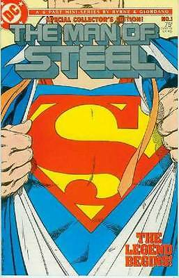 Man of Steel # 1 (of 6) (John Byrne, direct sales edition) (USA, 1986)