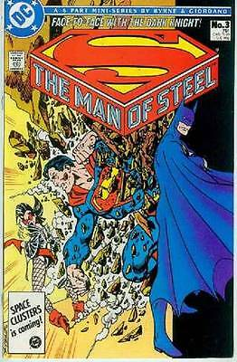 Man of Steel # 3 (of 6) (John Byrne, intro/origin Magpie) (USA, 1986)