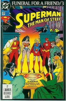 Superman: Man of Steel # 20 (Funeral For a Friend part 3) (USA, 1993)