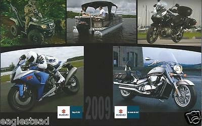 Brochure - Suzuki - Product Line Overview Motorcycle ATV Outboard Motor (DC405)