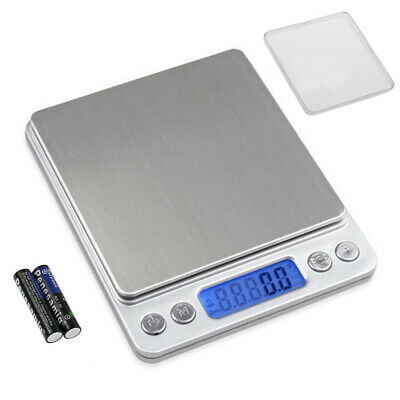 0.1-3kg Digital Scale Lcd Screen Weighing Postal kitchen Scale Food Cooking UK