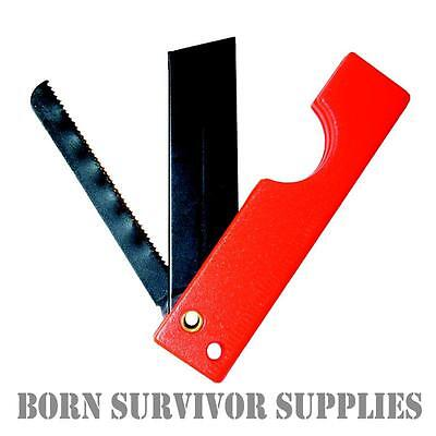 Ultimate Survival SABERCUT FOLDING RAZOR SAW - EDC E&E SERE Tool Bushcraft Kit