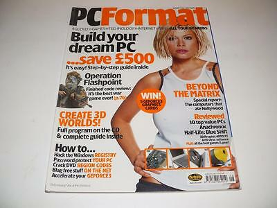 PC Format Magazine ~ August 2001 ~ Issue 125