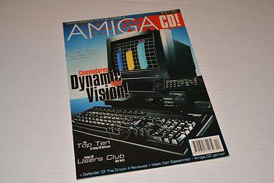 Amiga CD! Magazine ~ Winter 1992 ~ Vol. 1 No. 1