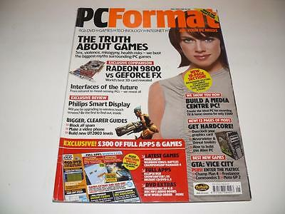 PC Format Magazine ~ May 2003 ~ Issue 148