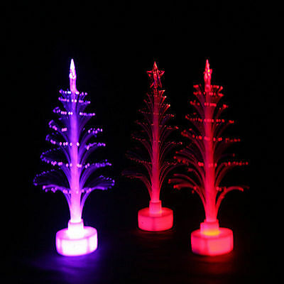 Funny Christmas Xmas Tree Color Change LED Light Lamp Home Party Decor Ornament