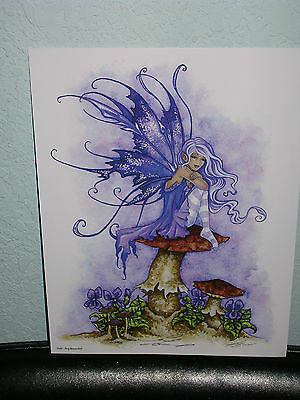 Amy Brown - Voilet - SIGNED - NEW