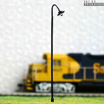On Sale 5 x OO / HO scale Model train Lamp posts Led street light Lamps #601