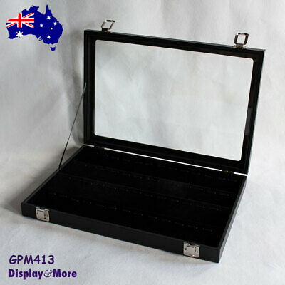 PENDANT Case Display Box | Reliable GLASS Lid | 4 Tiers | AUSSIE Seller