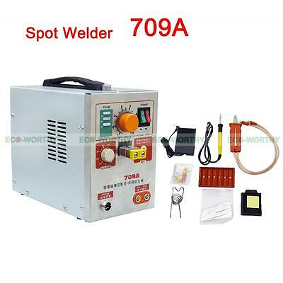 2 in 1 1900W Spot Welder W/ Soldering Iron Staion 709A Battery Welding Machine
