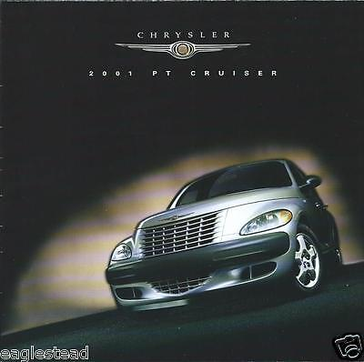 Auto Brochure - Chrysler - PT Cruiser - 2001 (AB717)