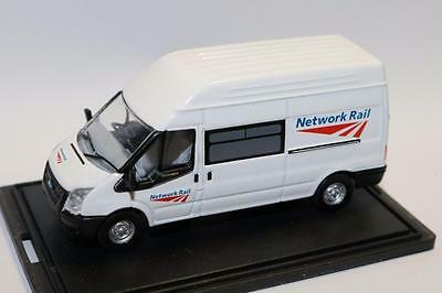 "OO Scale Oxford Ford Transit Network Rail 76FT005 ""NEW"" FNQHobbys OX043"