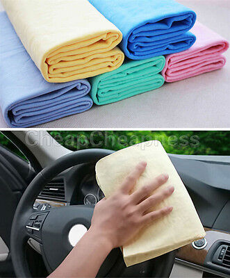 Wipes Magic Chamois Leather Absorbent Car Washing Cloth Absorbent Cleaning Towel