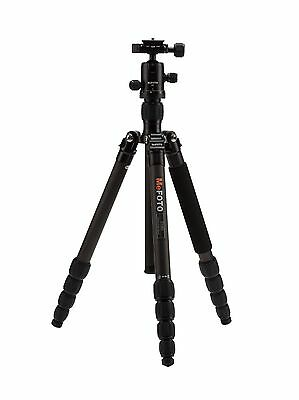 MeFoto Roadtrip Carbon Fiber Black Tripod Kit w/ Ball Head ->Free US Shipping