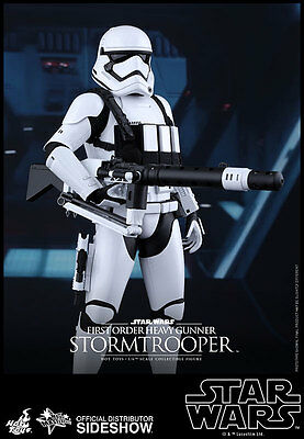 Hot Toys Star Wars FIRST ORDER Heavy Gunner Stormtrooper Action Figure MMS318