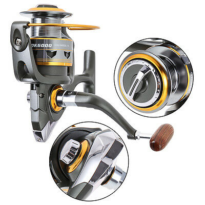 11BB Ball Bearings Spinning Reels Saltwater Freshwater Fishing Speed Gear 5.2:1