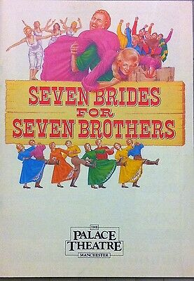 Seven Brides For Seven Brothers Palace Theatre Programme 1985 Michaela Strachan