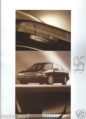 Auto Brochure - Lincoln - Continental - 1995 (AB741)
