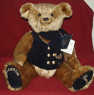 "HARRODS MILLENNIUM BEAR~ 18"" Fully Jointed"