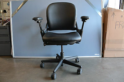 Steelcase LEAP fabric  High Back task Chair fully loaded Ergonomic Office home