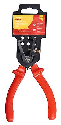"6"" Superior Wire Stripper Tool Professional Heavy Duty Electrician Electric New"