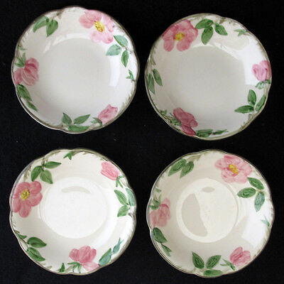 Franciscan Desert Rose Fruit Dessert Sauce Bowl USA Backstamp set of 4