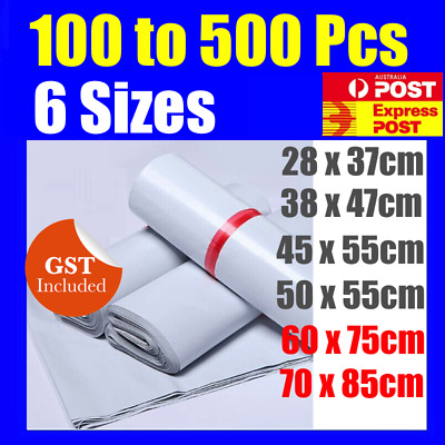 200 x  Poly Courier Bag Mailer Mailing Satchels