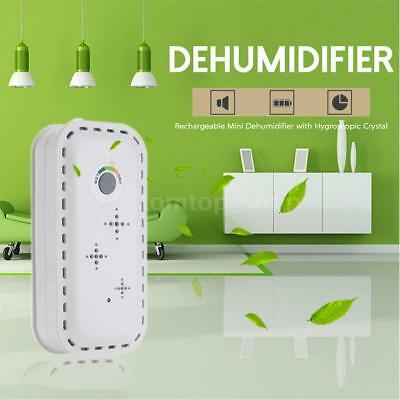 TOP-300 Rechargeable Air Dryer Mini Dehumidifier with Hygroscopic Crystal Y8UJ