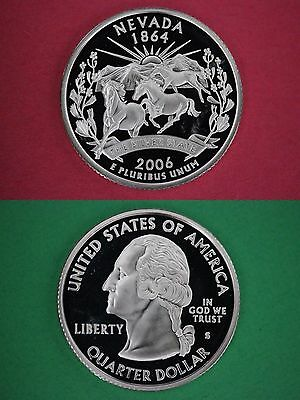 Silver 2006-S Colorado Proof State Quarter Deep Cameo Combined Shipping