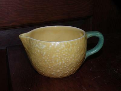 VINTAGE CARLTON WARE ceramic LEMON CREAMER pitcher jug