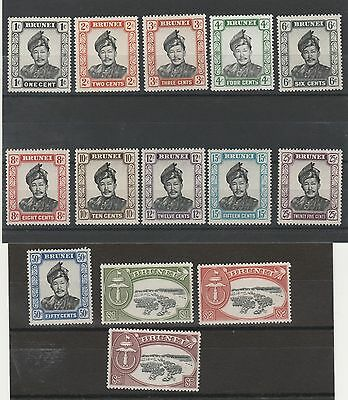 Brunei 1952 Sultan View Set */**