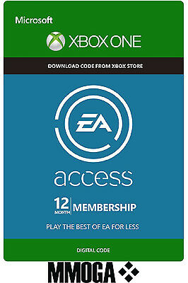 EA Access 12 Monate Abo Xbox One Mitgliedschaft Key Subscription Code 12 Months