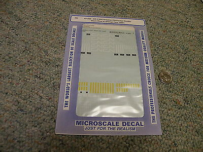 1991 D136 Microscale decals HO 87-664 CN Intermodel 48/' containers trailers tr
