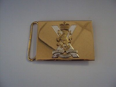 Royal Regiment Of Scotland Belt Buckle - Used Condition