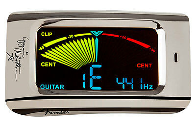 04160003 Fender Yngwie Malmsteen FCT15BC Clip-On Guitar & Bass Tuner. 0239978110