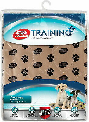 Simple Solution Washable Training & Travel Pad Large 2pk