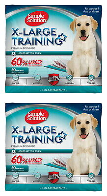Simple Solution Extra Large Training Pads 100 pk (2x50pk)