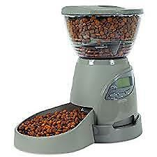 Petmate Infinity 10 lb Portion Control Automatic Dog Cat Feeder