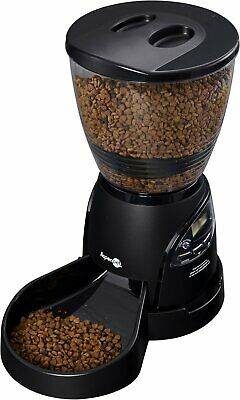 Petmate 10LB Le Bistro Portion Control Automatic Dog Cat Feeder