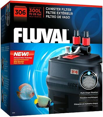Fluval 306 A212 External Canister Filter up to 70 Gal