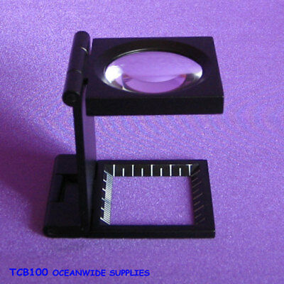 Professional GENUINE 6X Folding Optical Glasses Loupe Magnifier | AUSSIE Seller